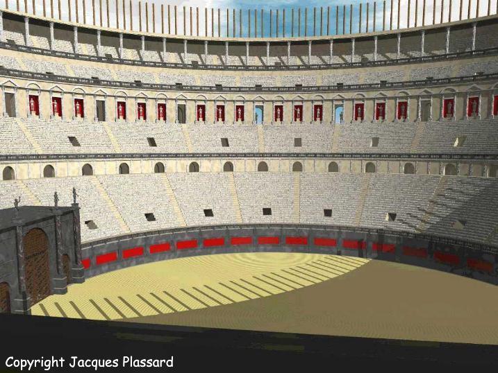 L 39 interno del colosseo for Interno 5 b b roma