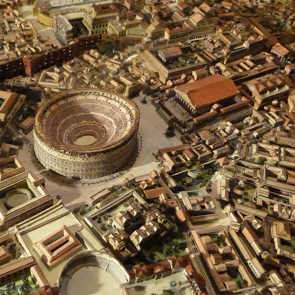 An 11step tutorial on how to draw the Roman Colosseum