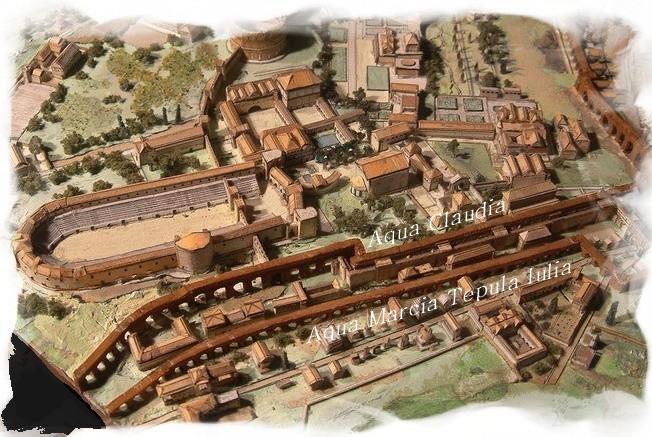 Acquedotto Acqua Marcia.Gli Acquedotti Roma