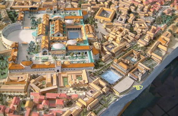 a physical description of the domus transitoria the residence of nero Domus aurea - nero's house, rome, italy - visitor information october 2014  almost eight years later and the domus aurea is finally open to visitors again,.