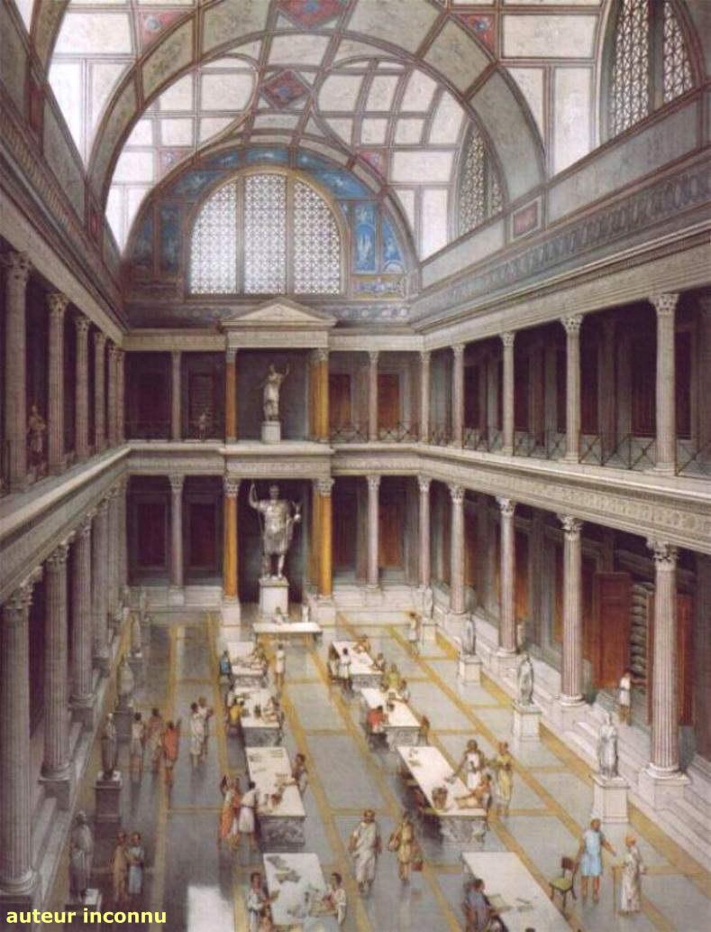 Bibliothque Trajanne